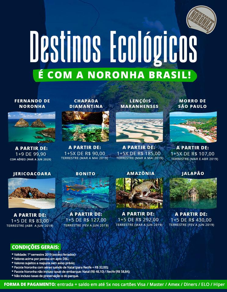 Destinos Ecológicos