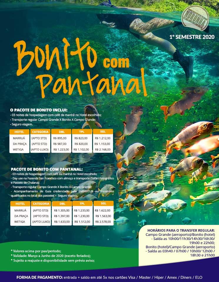 Bonito com Pantanal